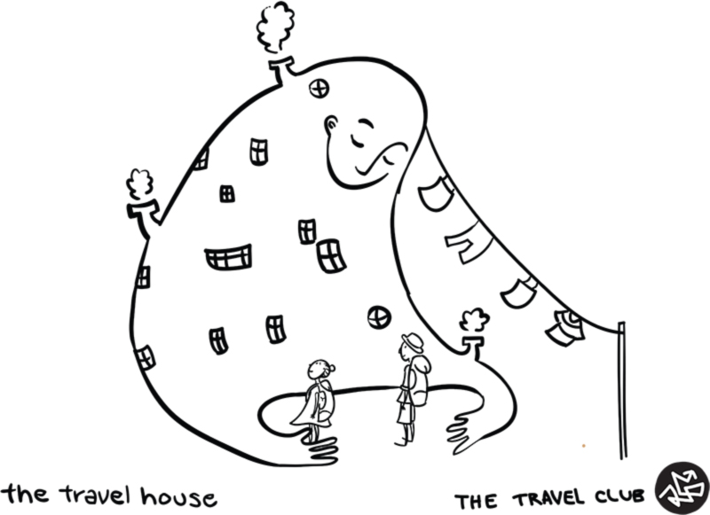 travel house building