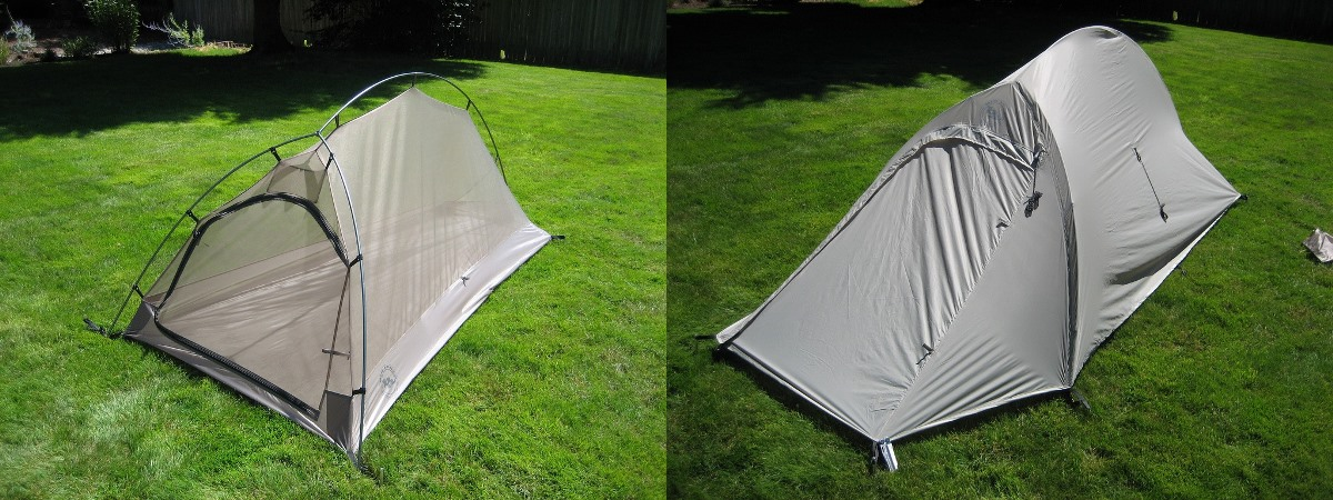 inner tent and rainfly