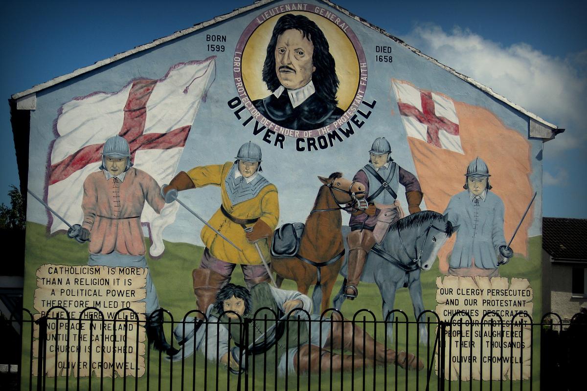 Murals of northern ireland for Mural ireland