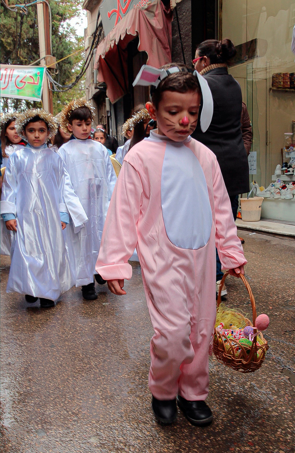 easter in damascus