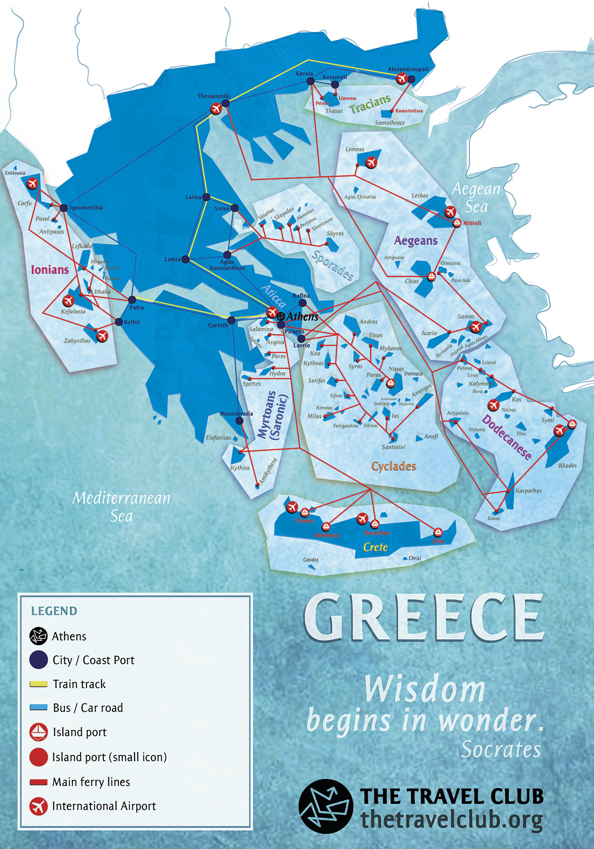 ios grcka mapa Greek Islands Travel Guide ios grcka mapa