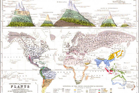 Maps: Religions, Plants, Diseases